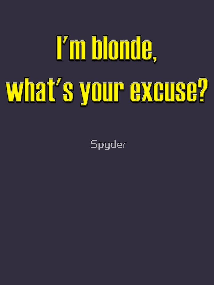 Blonde von Spyder