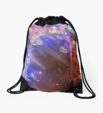 Visitors to the Castle Drawstring Bag