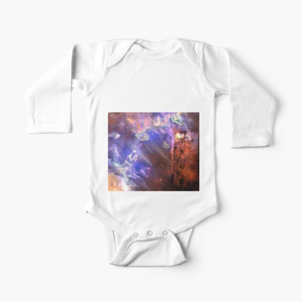 Visitors to the Castle Long Sleeve Baby One-Piece