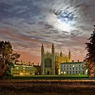 King's College, Cambridge by Mark Howells-Mead