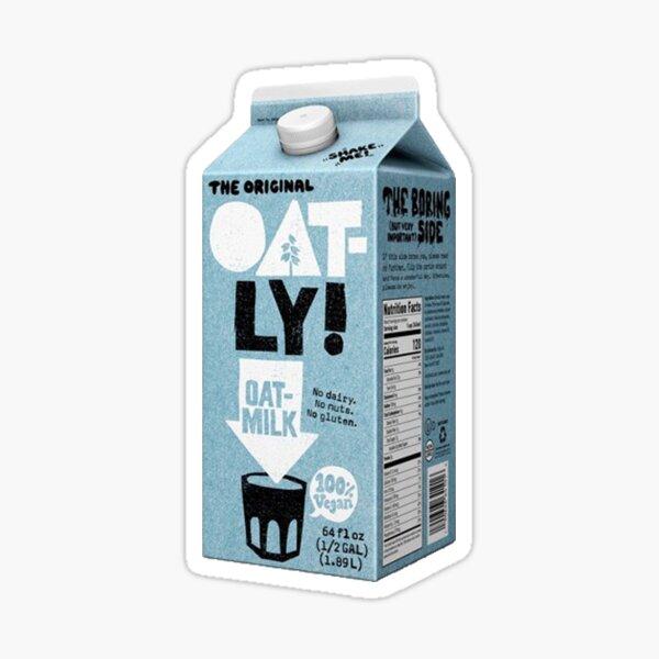 Vegan Oat Milk Sticker