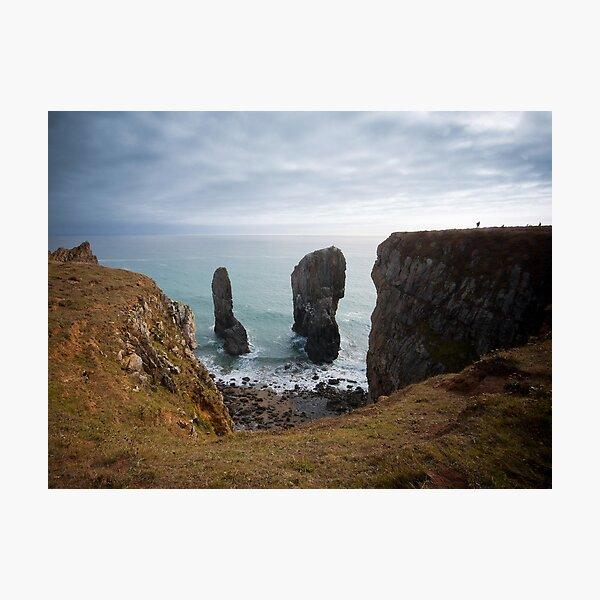 Elegug Stacks, Wales Photographic Print