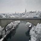 Lorraine Bridge in Winter by Mark Howells-Mead