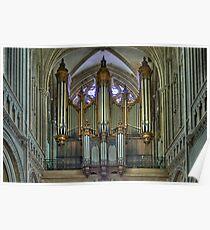Notre-Dame de Bayeux -The Big Organ Cavaillé-Coll Poster