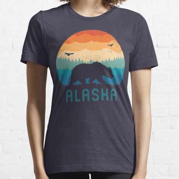 Alaska Retro Bear Essential T-Shirt