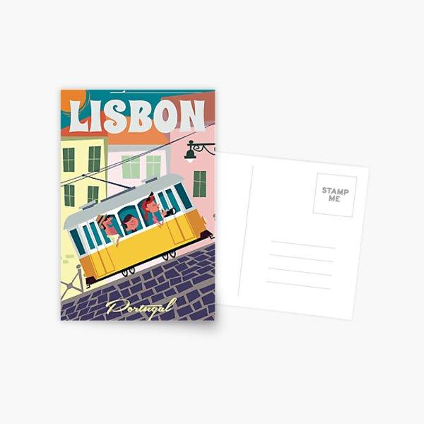 Lisbon poster Postcard