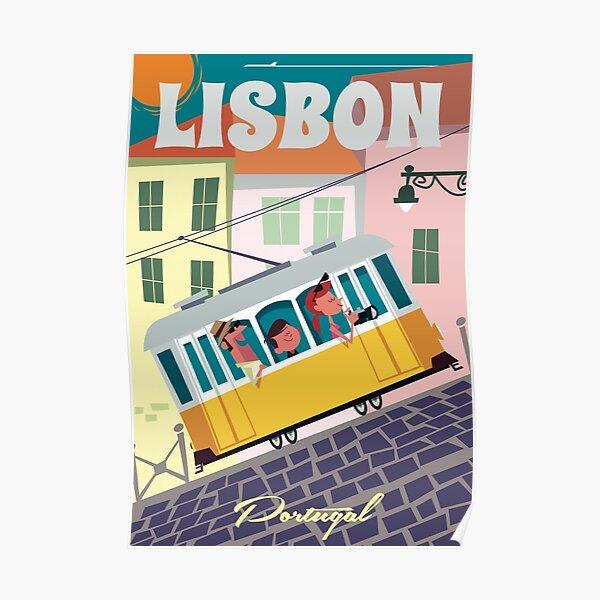 Lisbon poster Poster