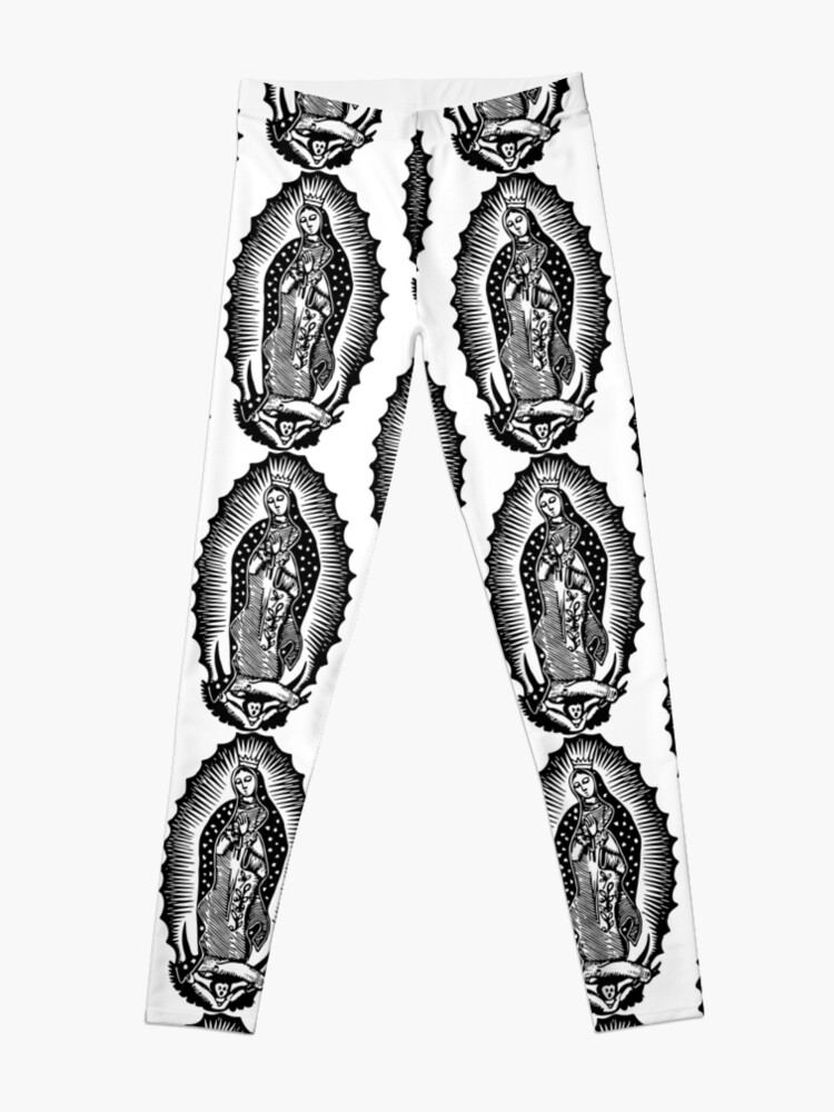 Alternate view of Virgen de Guadalupe Leggings
