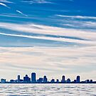 Downtown St. Petersburg Florida, Viewed from Tampa Bay by BluEartharts