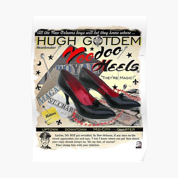 Voodoo Heels Poster