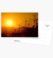 Sunset on civilisation Postcards