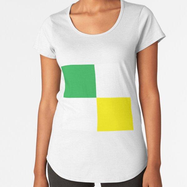 Flag, Parallel Premium Scoop T-Shirt