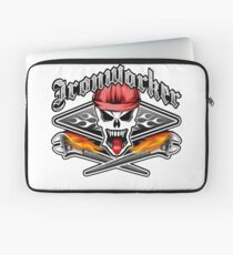 Ironworker Skull 2.1 Laptop Sleeve