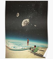 Summer with a Chance of Asteroids Poster
