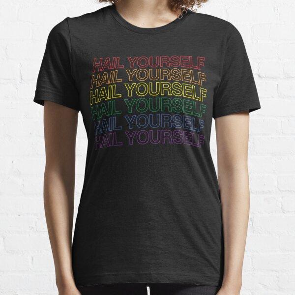 HAIL YOURSELF - Retro Pride Colors (Shirt) Essential T-Shirt
