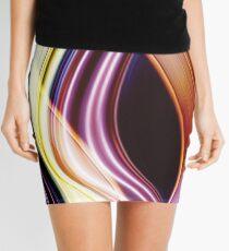 Light Sensation Abstract Mini Skirt