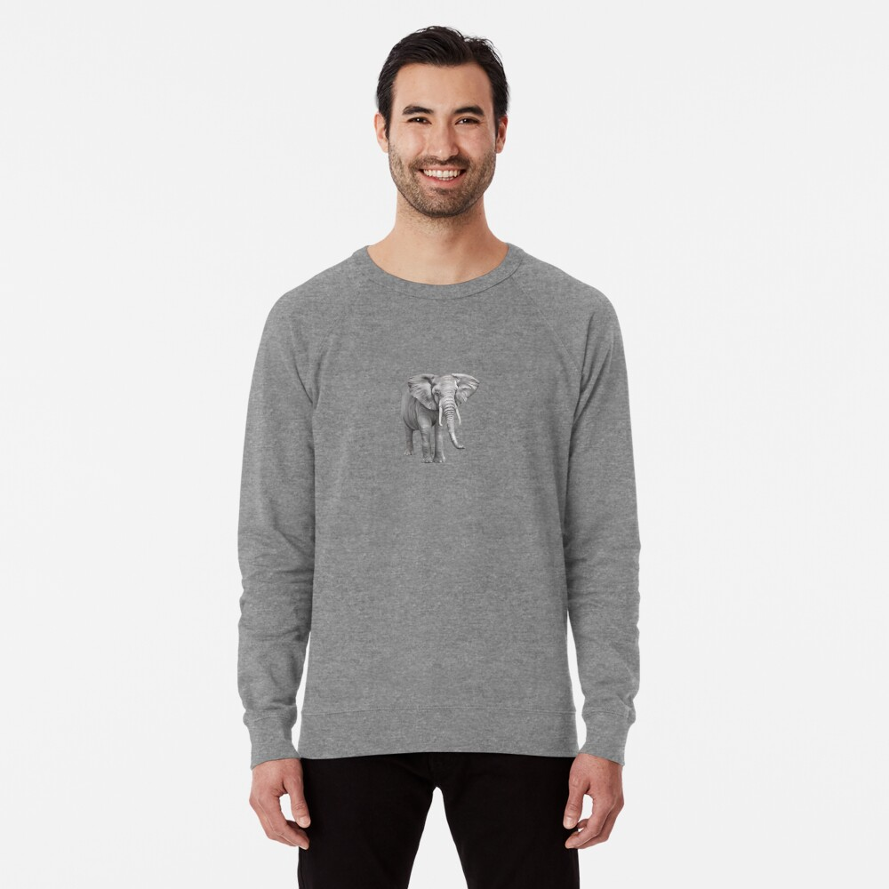 Large Elephant Lightweight Sweatshirt
