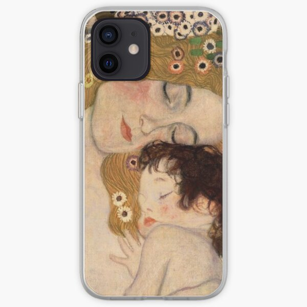 Gustav Klimt, The Three Ages of Woman, 1905 iPhone Soft Case