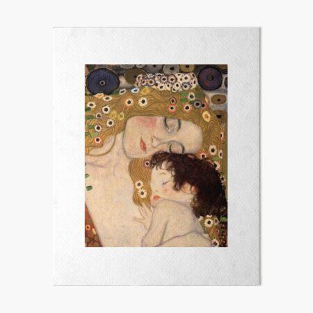 Gustav Klimt, The Three Ages of Woman, 1905 Art Board Print