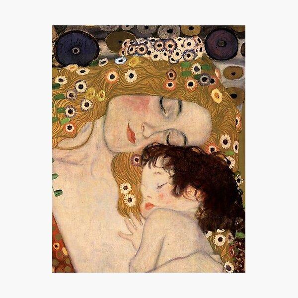 Gustav Klimt, Les trois âges de la femme, 1905 Impression photo