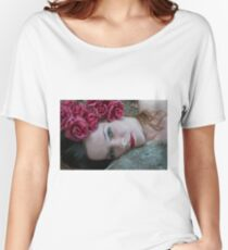 Tamed Rose Women's Relaxed Fit T-Shirt