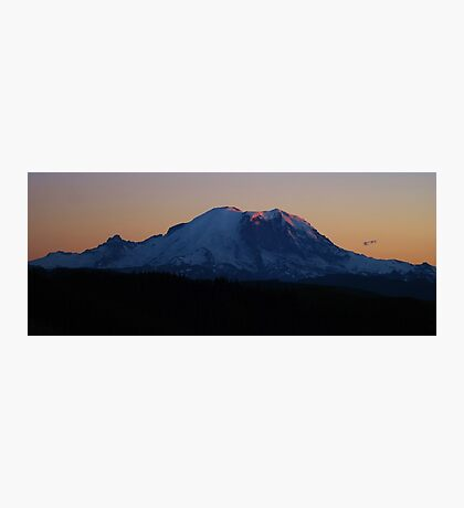 Summer Sunset on Rainier Photographic Print