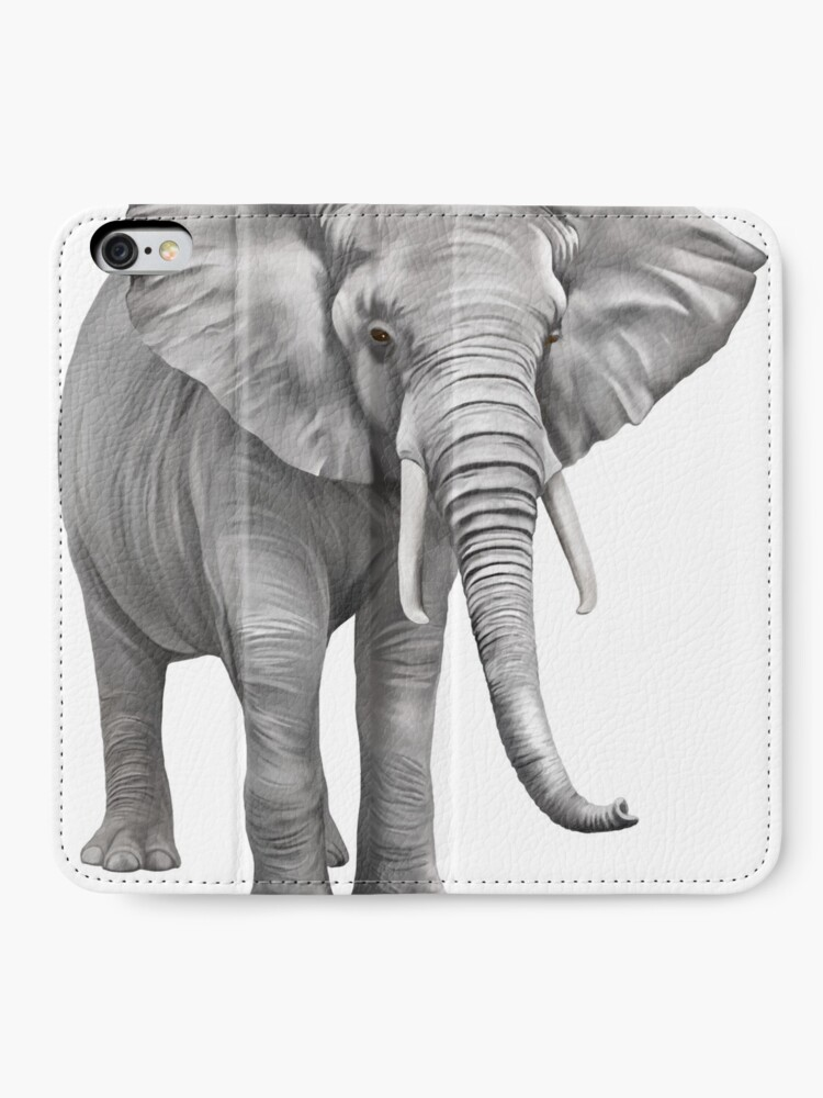 Alternate view of Large Elephant iPhone Wallet