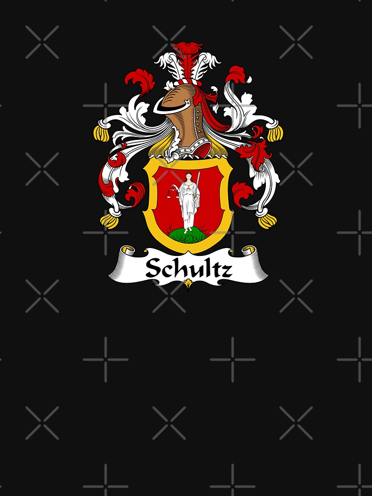 Schultz Coat of Arms - Family Crest Shirt by FamilyHeraldry