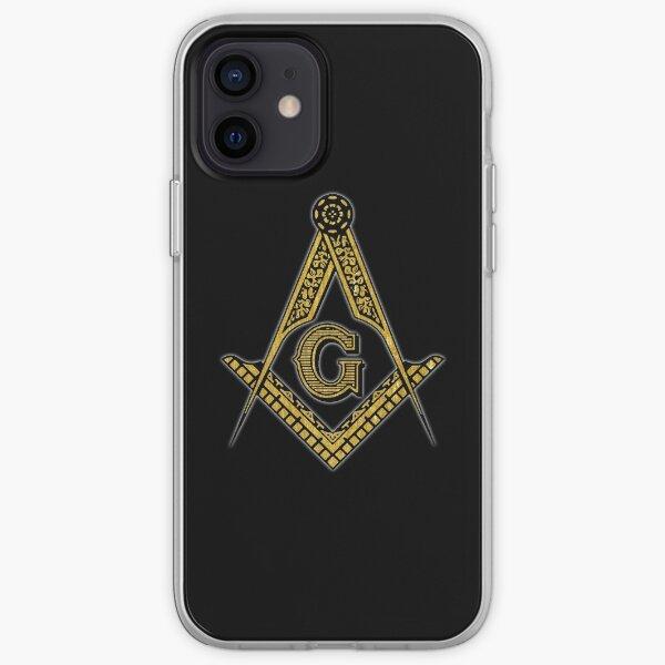 Freemason (Black & Gold) iPhone Soft Case