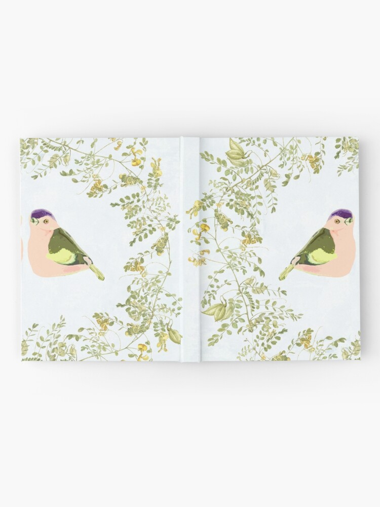Alternate view of Summer Love birds Hardcover Journal