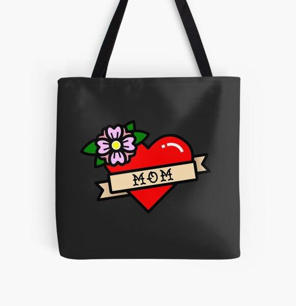 Mom Allover-Print Tote Bag