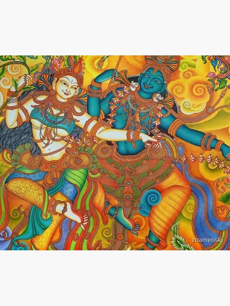 Kerala Mural Painting - Kathakali by znamenski