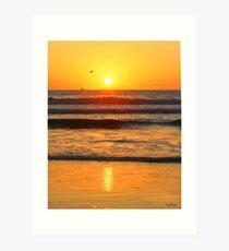 Sunrise /Sunset ... be8 Art Print