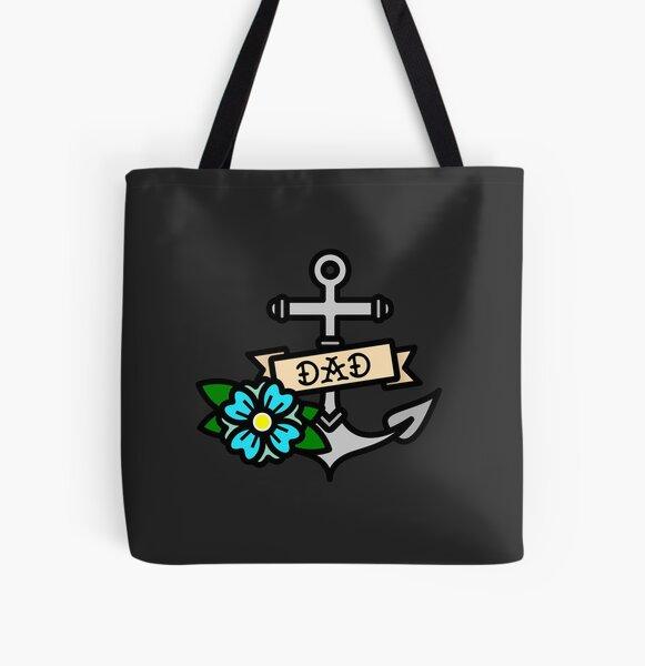 Dad Allover-Print Tote Bag