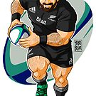ADAM LIKES TO PLAY RUGBY - NEW ZEALAND by bobobear