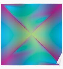 Digital Aurora Poster