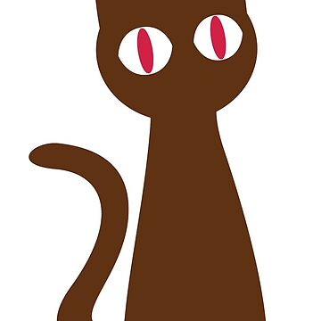 Dark Brown Cat by terrazicaio