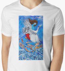 Shamayim Men's V-Neck T-Shirt