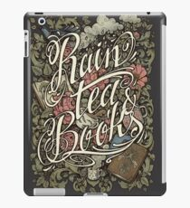 Rain, Tea & Books - Color version iPad Case/Skin