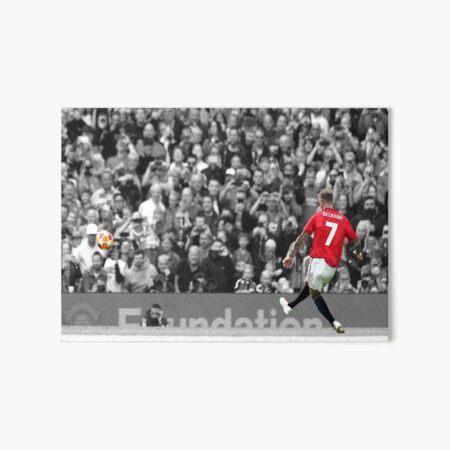 David Beckham Art Board Print