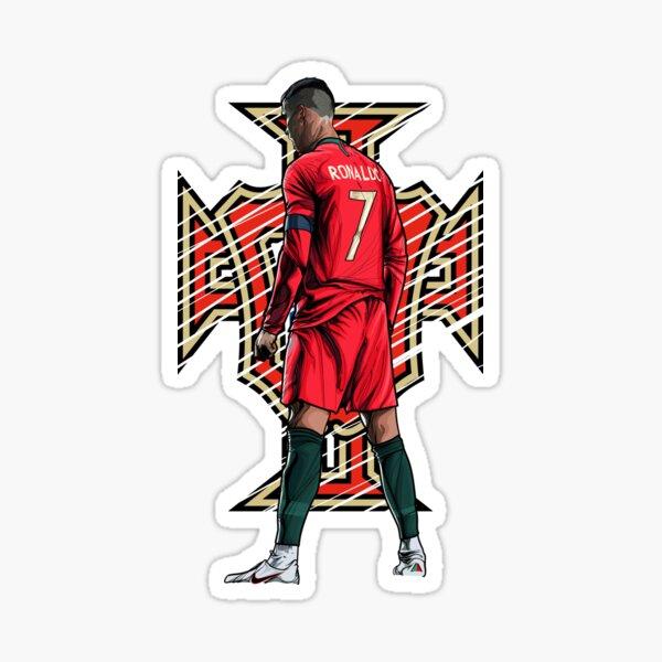 Cristiano Ronaldo Portugal-Logo Sticker