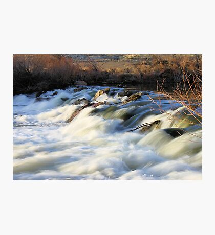 fast water Photographic Print