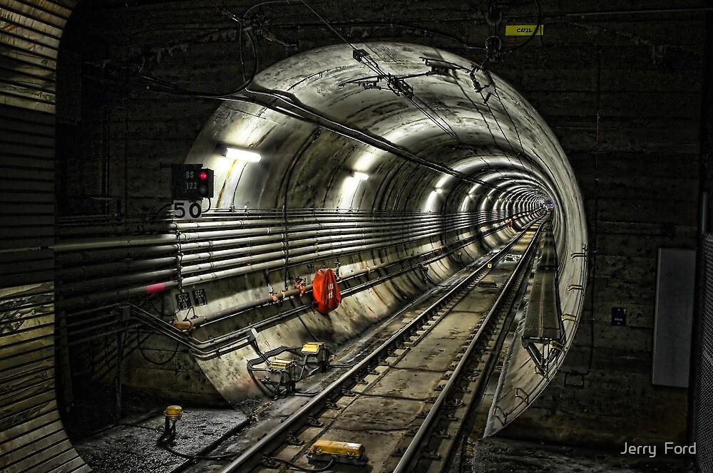 Corona Tunnel by Myron Watamaniuk