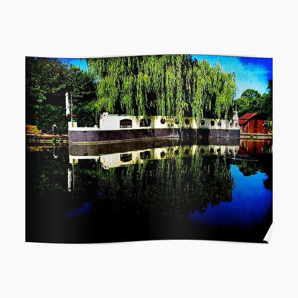Canal Boat Poster