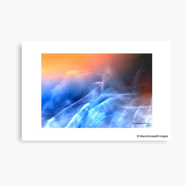 Sunrise over Clouds Metal Print