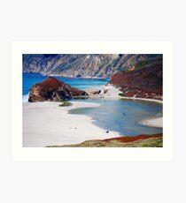 Coastal Colors Art Print