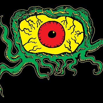 Crawling Eye Monster von jarhumor