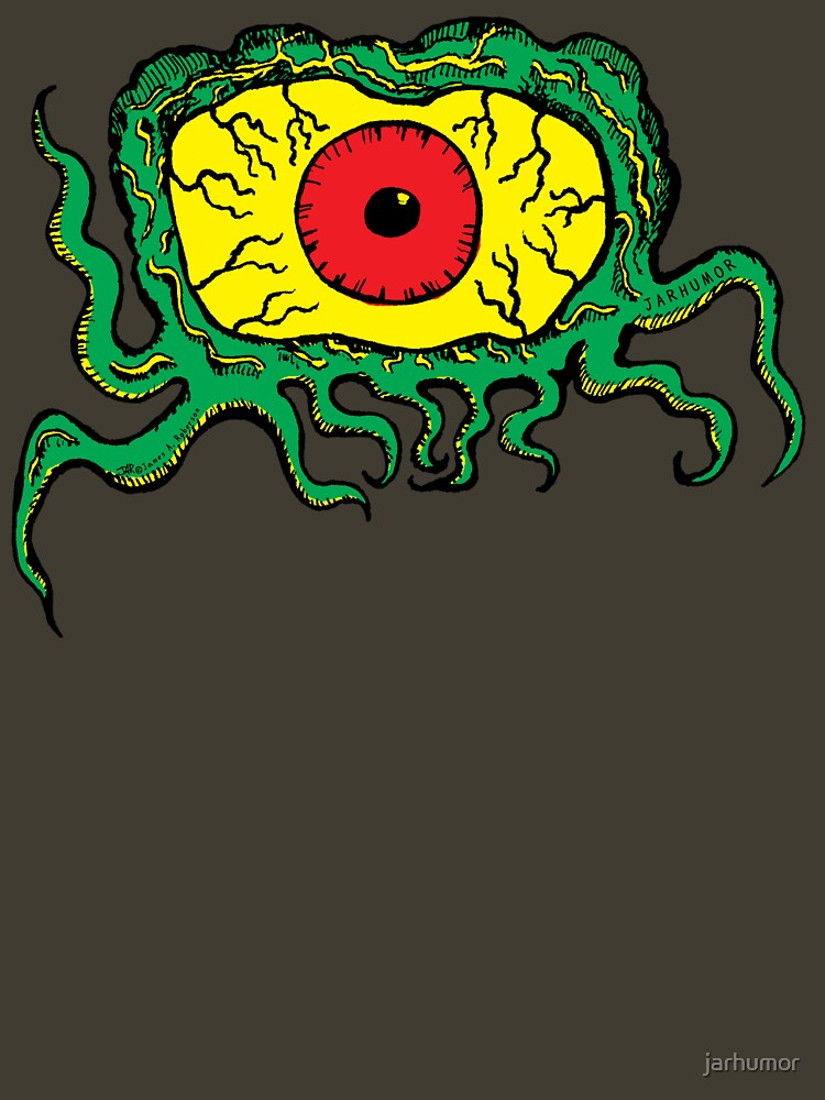 Crawling Eye Monster by jarhumor