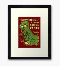 The Monster That... Framed Print