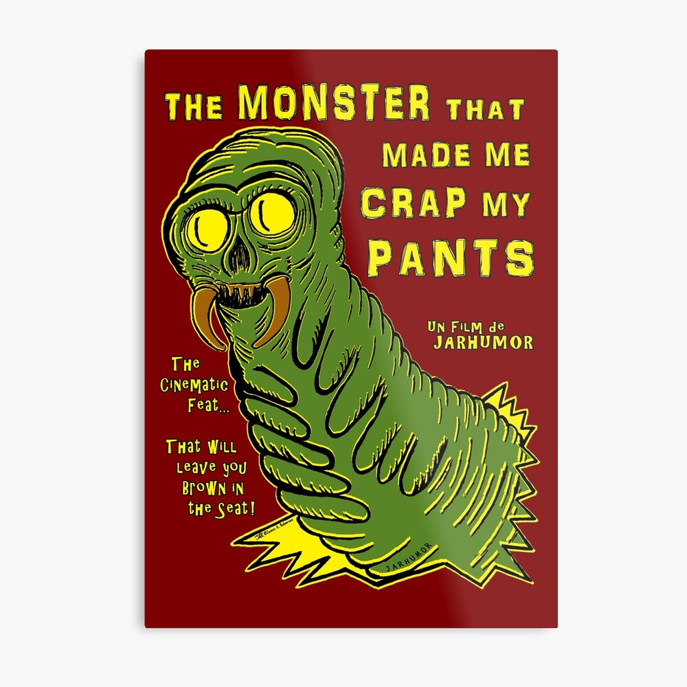 The Monster That... Metal Print